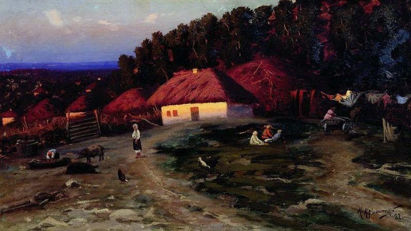 Вечер на Украине. 1882. Konstantin Kryzhitsky