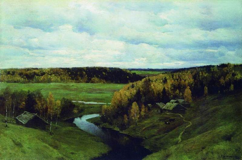 Золотая осень. 1907. Константин Крыжицкий
