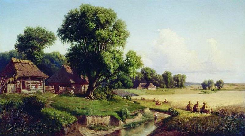 Солнечный день. 1889. Konstantin Kryzhitsky