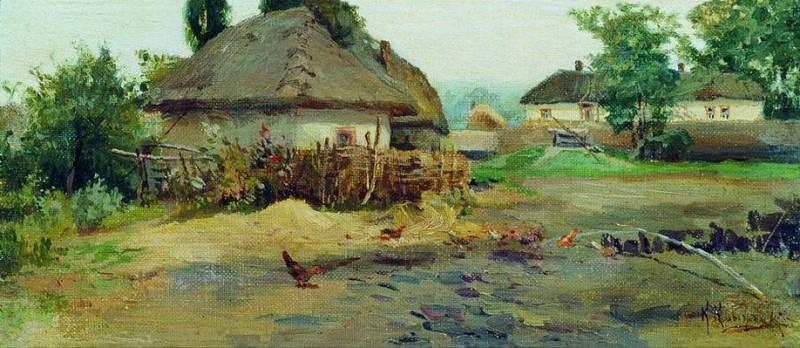 Село. Konstantin Kryzhitsky
