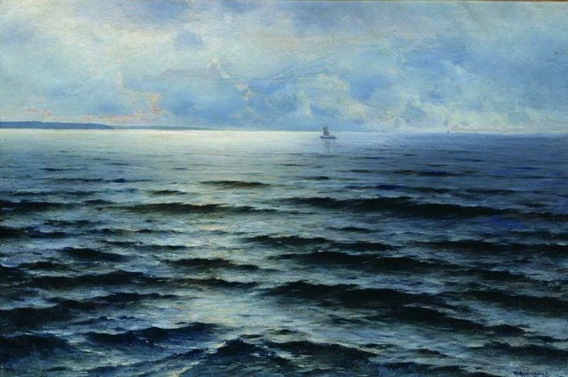 Балтийское море. 1897. Konstantin Kryzhitsky