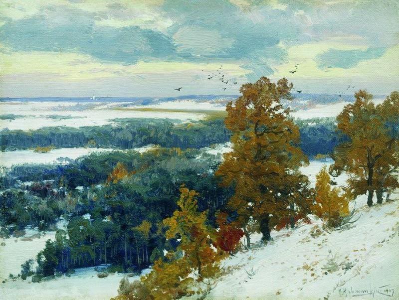 Овражек. 1907. Konstantin Kryzhitsky