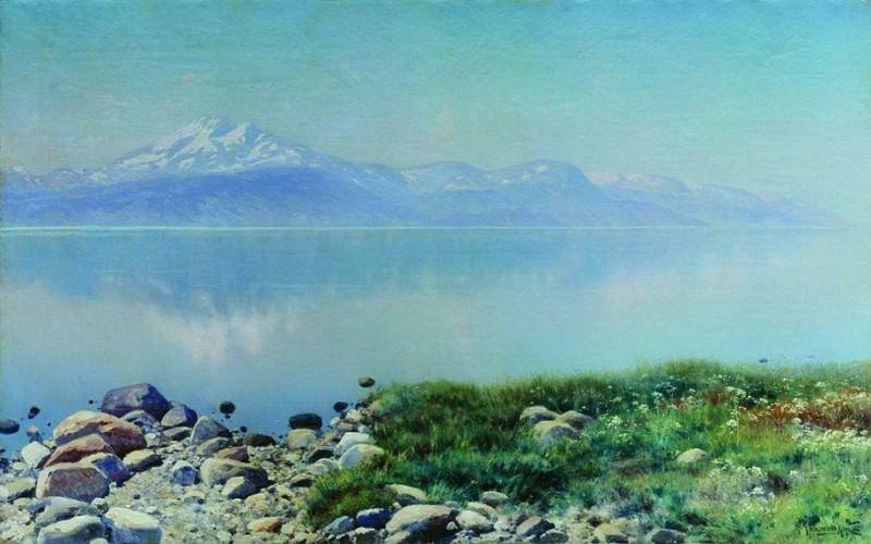 Озеро. 1897. Konstantin Kryzhitsky