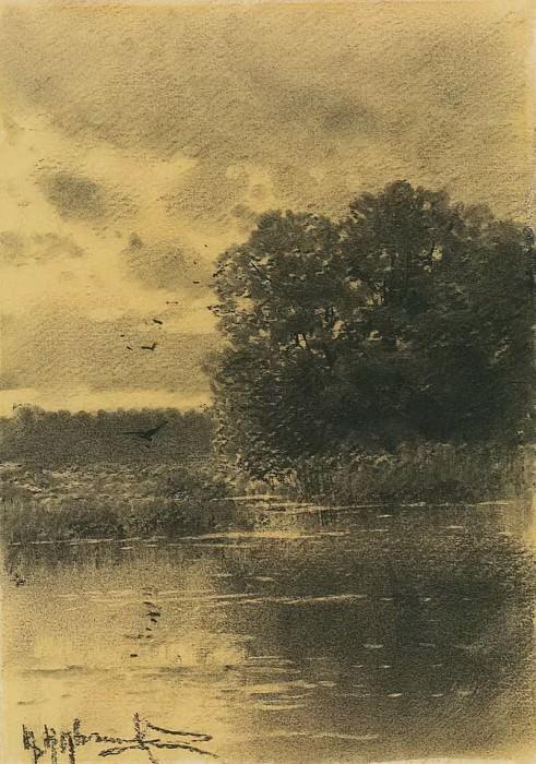 Пруд. Konstantin Kryzhitsky