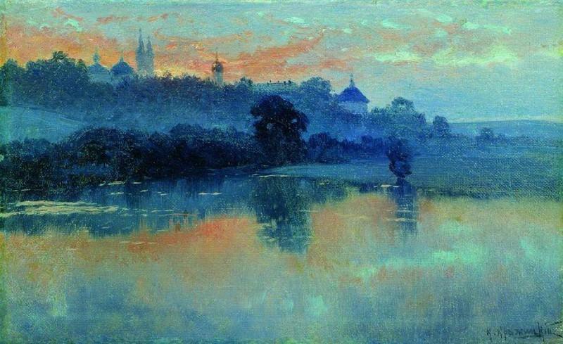 Закат. Konstantin Kryzhitsky
