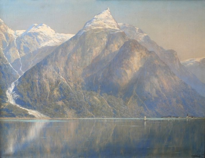 Норвежский фиорд. 1903. Константин Крыжицкий