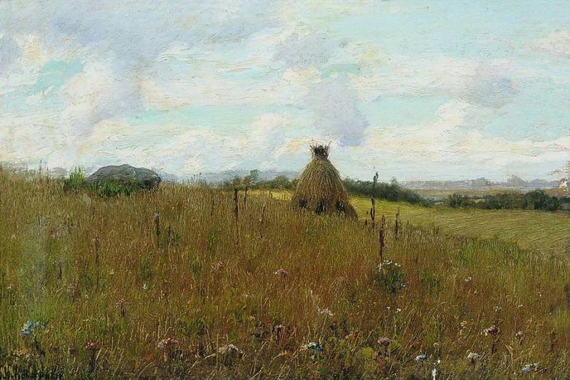 Поле. 1891. Konstantin Kryzhitsky