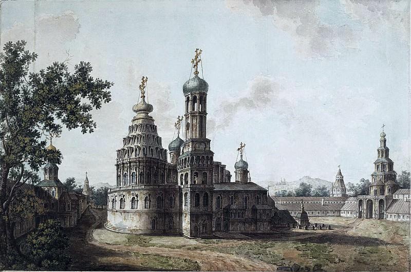 Новый Иерусалим. Собор Воскресения Христова. 1800-е. Fedor Alexeev
