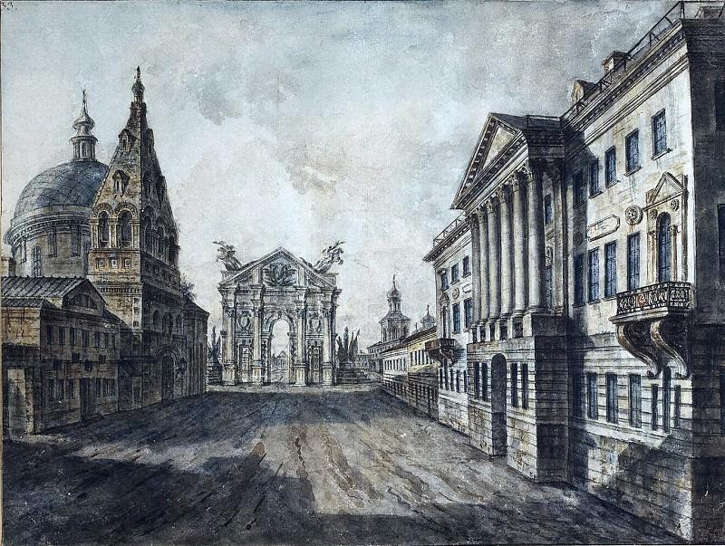 Страстная площадь. Fedor Alexeev