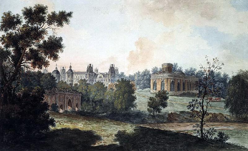 Панорамный вид Царицыно. 1800-е. Fedor Alexeev