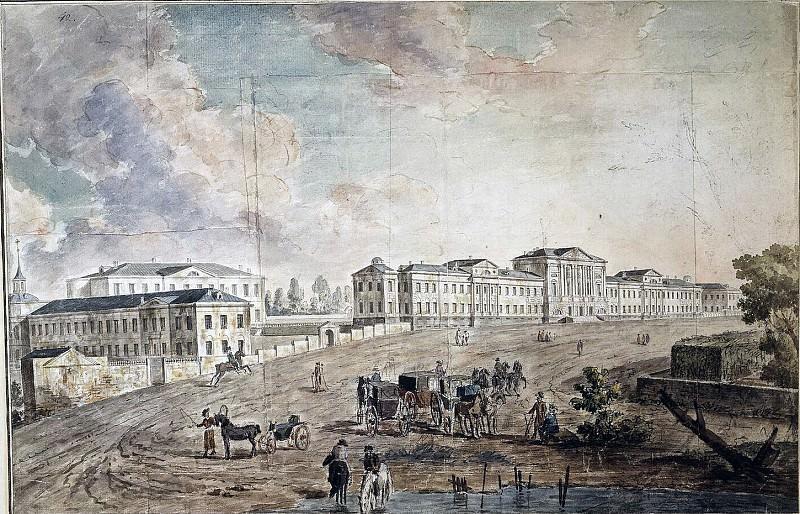 Военный госпиталь в Лефротове. 1800-е. Fedor Alexeev