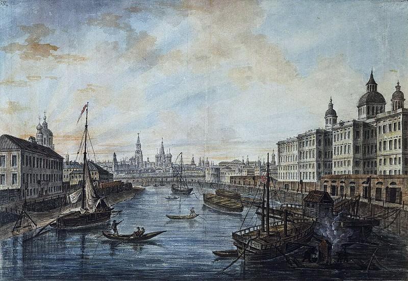 Вид на Воспитательный дом. 1800-е. Fedor Alexeev