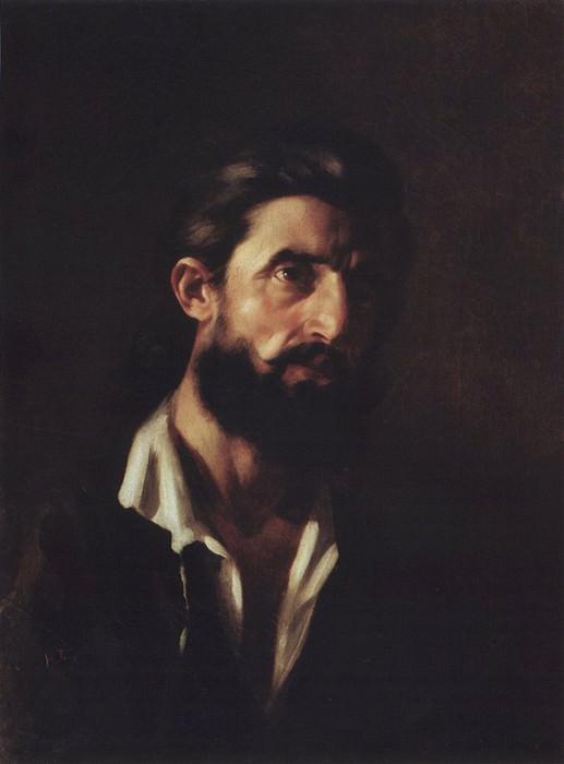 Мужской портрет.. Nikolay Ge