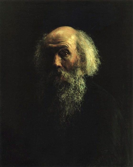 Автопортрет. 1893. Nikolay Ge
