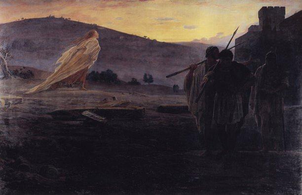Вестники Воскресения. 1867.. Николай Николаевич Ге