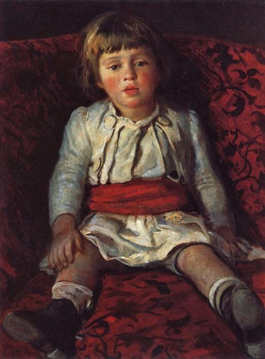 Портрет Николая Ге, внука художника. 1889. Николай Николаевич Ге