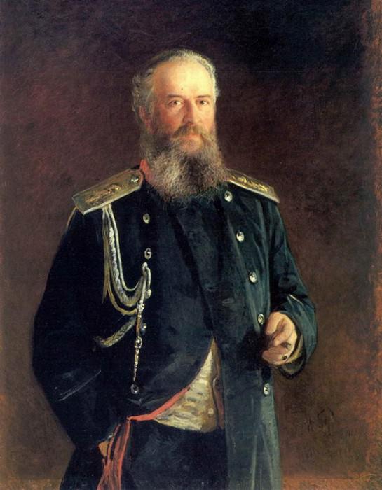 Портрет А.В.Олсуфьева. 1881. Nikolay Ge