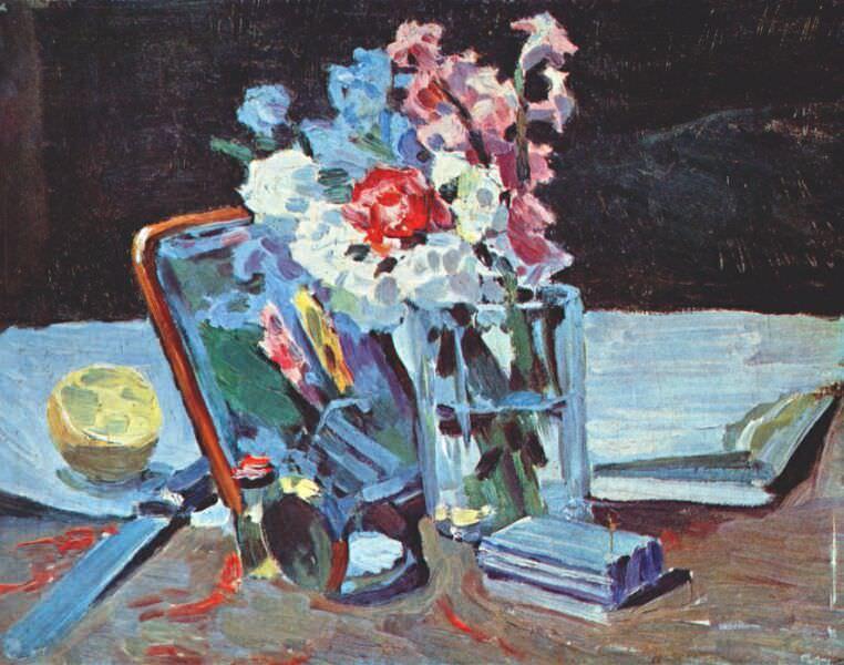 borisov-musatov still life, flowers 1902. Viktor Borisov-Musatov