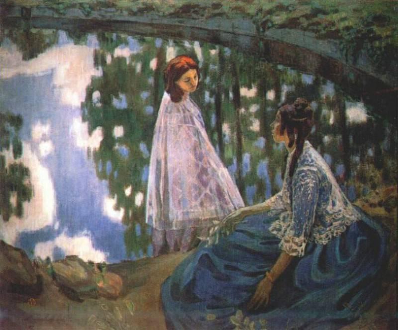 borisov-musatov the reservoir 1902. Viktor Borisov-Musatov