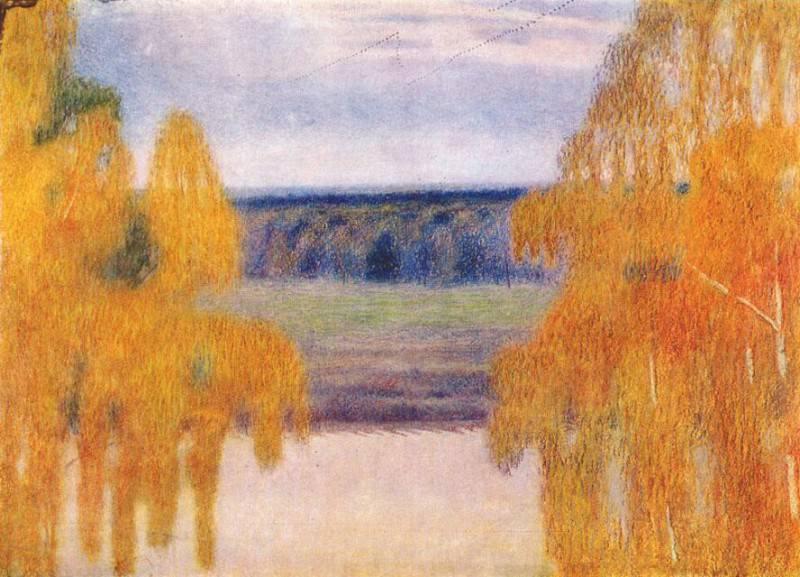 borisov-musatov autumn song 1905. Viktor Borisov-Musatov