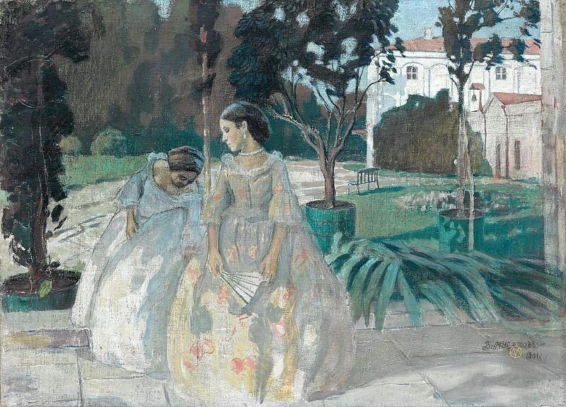 Tapestry. Viktor Borisov-Musatov
