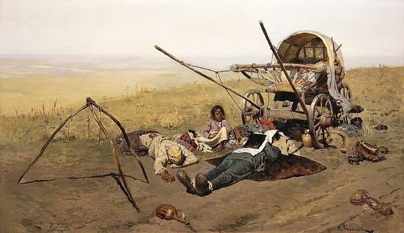 On the road. Death of a migrant. Sergey Ivanov