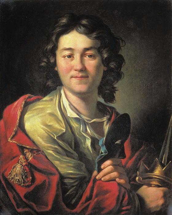 Портрет актера Федора Григорьевича Волкова. 1763. Антон Павлович Лосенко