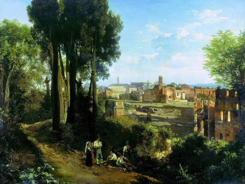 Старый Рим. 1824. Сильвестр Феодосиевич Щедрин