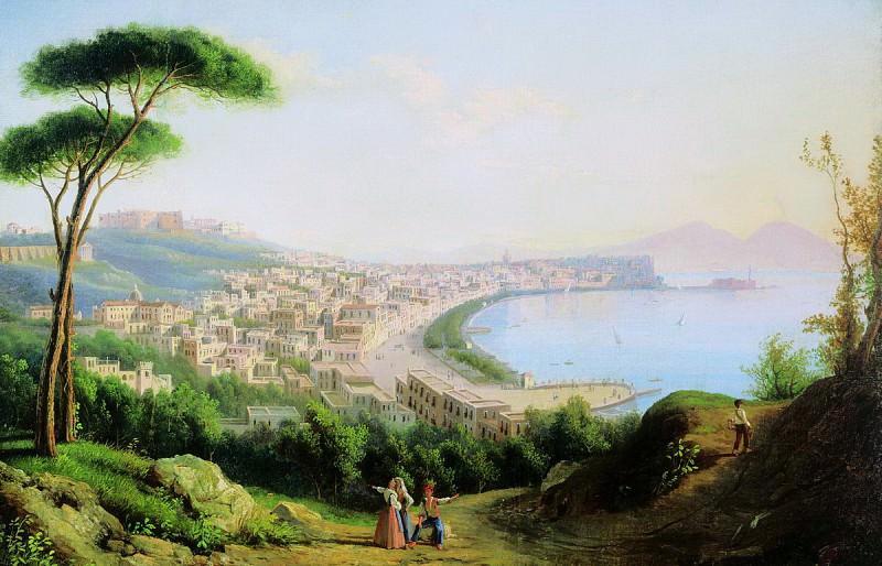 Вид на Неаполь с дороги в Позилиппо. 1829. Silvester Shedrin