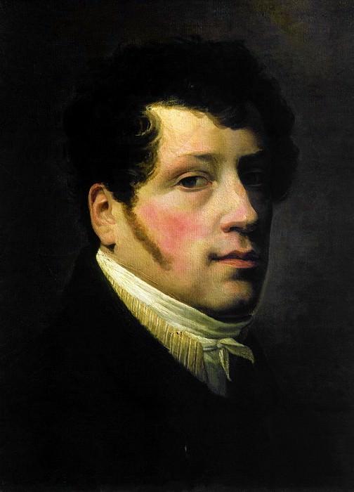 Автопортрет 1817. Silvester Shedrin