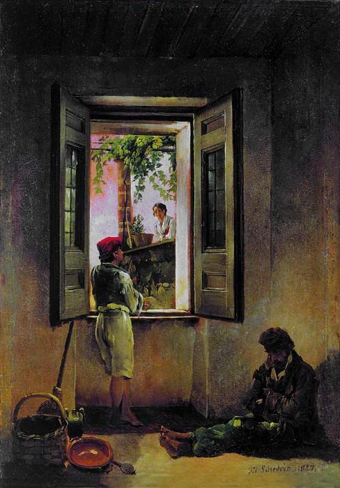 Неаполитанская сцена. 1827. Silvester Shedrin