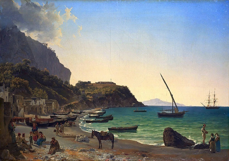 Big Harbor on Capri. Silvester Shedrin