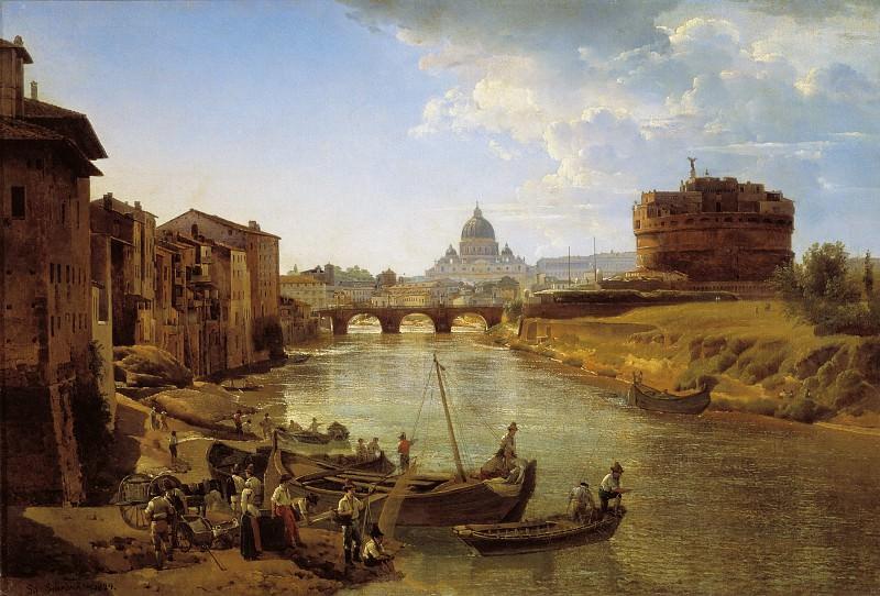 Новый Рим. Замок Святого Ангела 1825. Silvester Shedrin