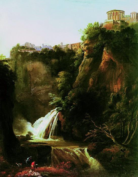 Водопад в Тиволи. Silvester Shedrin