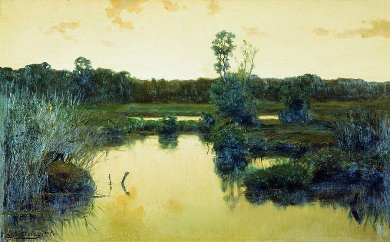 Болото. 1902. Ефим Волков