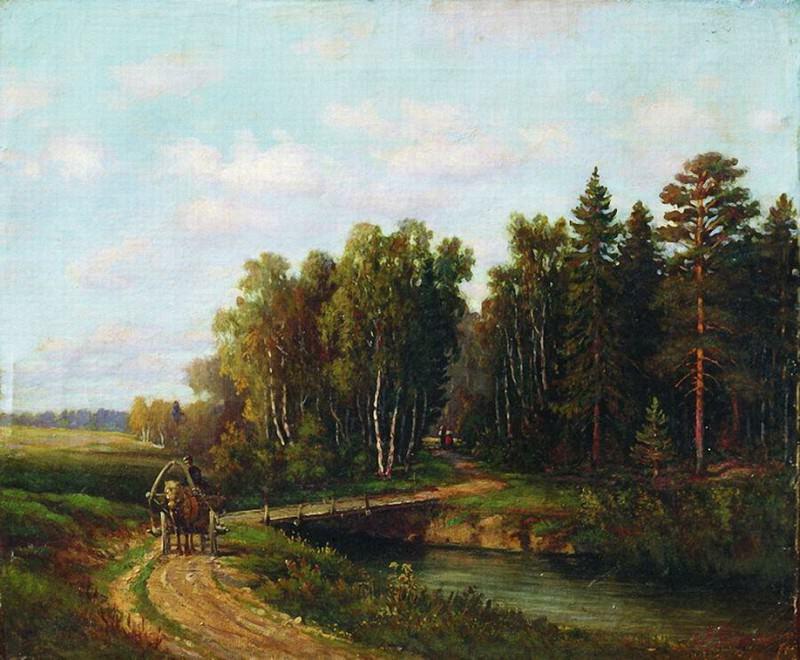 Пейзаж3. Efim Volkov