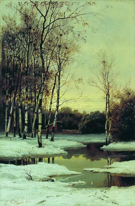 Весной. 1880. Efim Volkov