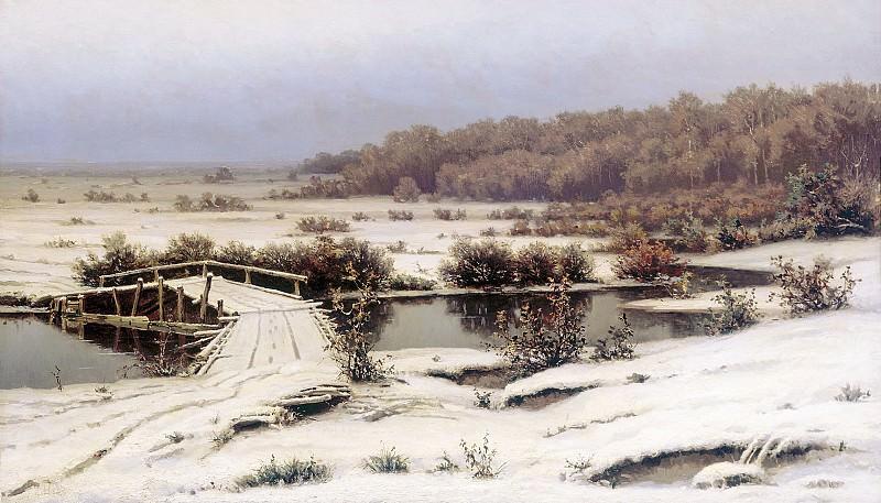 Первый снег 1883. Ефим Волков