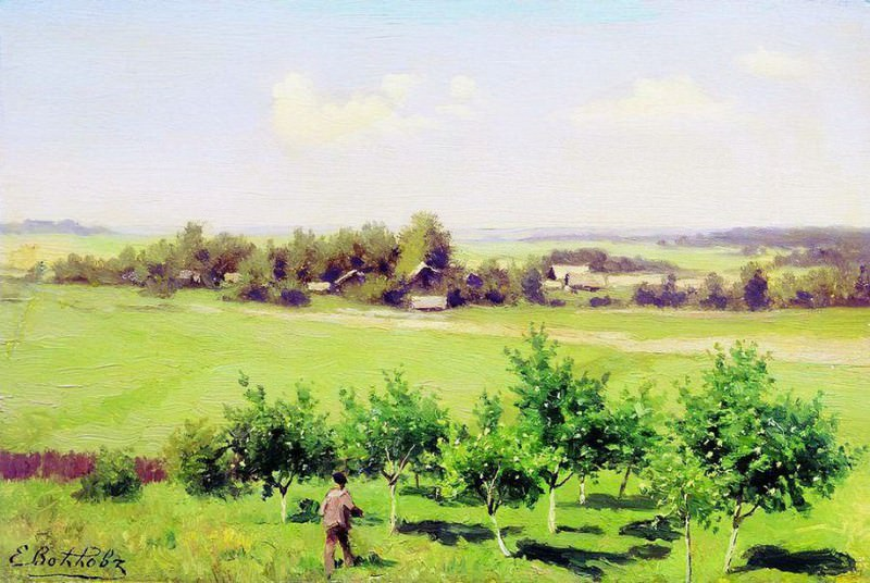 Летний день. Начало 1880-х. Ефим Волков