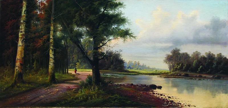Пейзаж. 1890-е. Efim Volkov