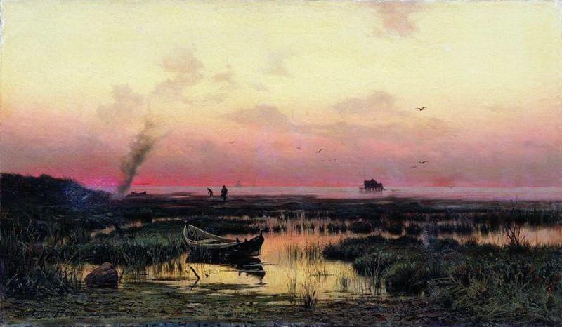 Вечер. 1877. Efim Volkov