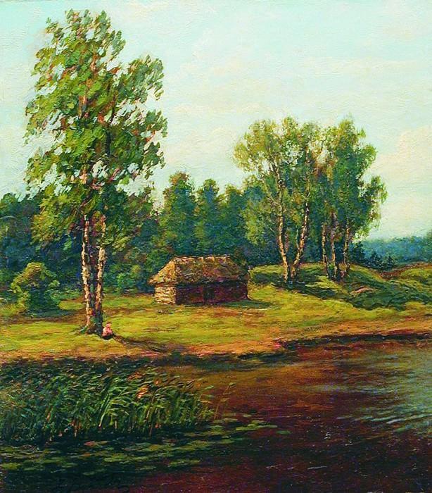 Домик на опушке. 1890-е. Efim Volkov