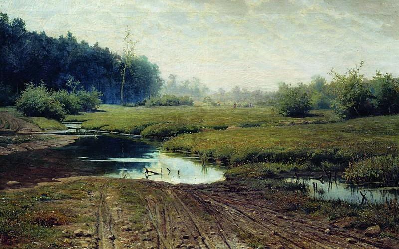 Летний день после дождя. 1881. Efim Volkov