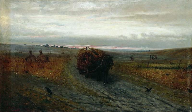 Во время сенокоса. 1889. Ефим Волков
