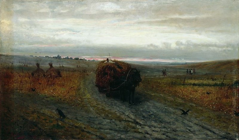 Во время сенокоса. 1889. Efim Volkov