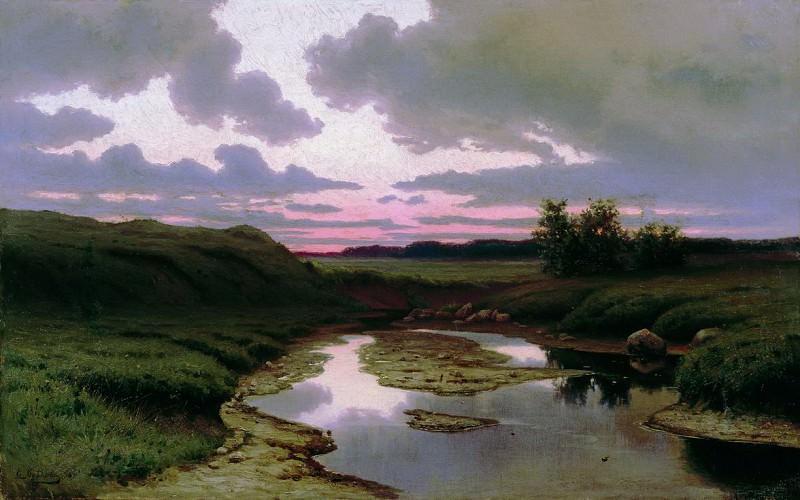 Сумерки. 1896. Efim Volkov