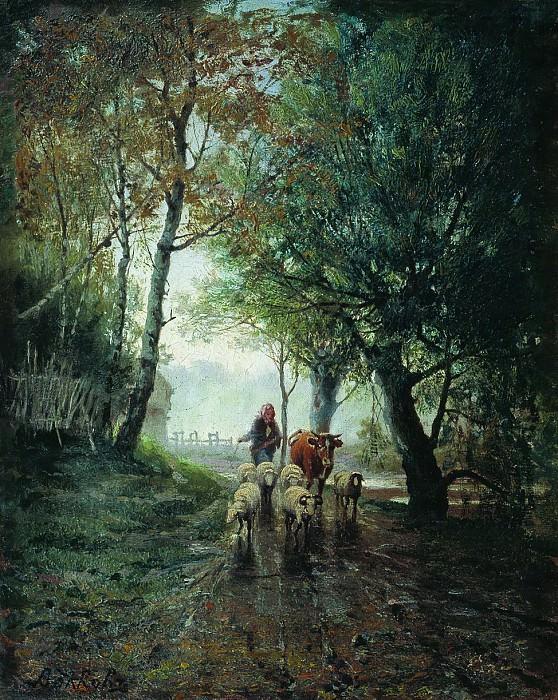 Лесной пейзаж2. Efim Volkov