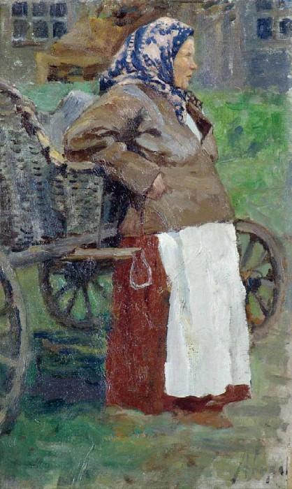 Пермская баба. 1918. Mikhail Avilov