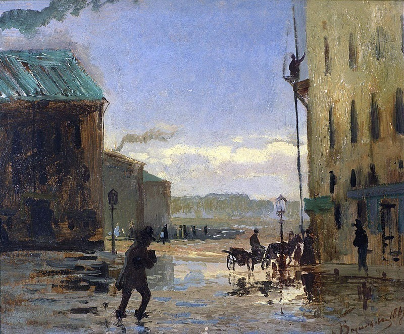 After the rain. Fedor Vasiliev