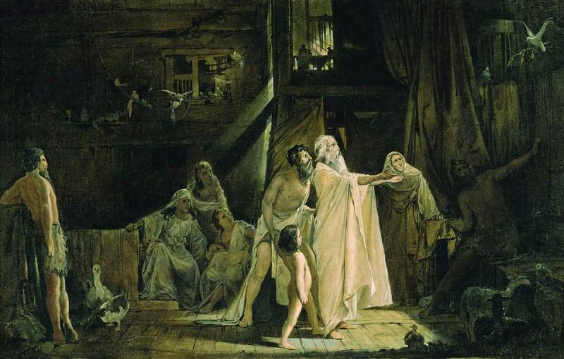 Ноев ковчег. 1882. Andrei Riabushkin